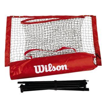 купить Сетка для большого тенниса и бадминтона 3.2 м с телескопическими палками Wilson (2274) в Кишинёве