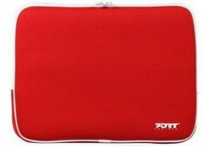 "PORT Skin Line/MIAMI SKIN RED/15.4"" Skin-neopren skin protection for notebook-without back pocket"