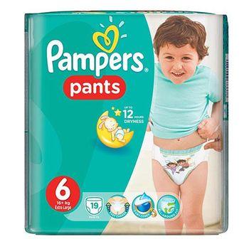купить Pampers трусики Unisex 6, 16+кг. 19шт в Кишинёве