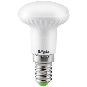 Лампа светодиодная ( холодный белый свет) NLL-R50-5-230-4K-E14,  5W