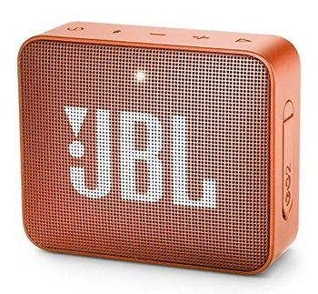 JBL Go 2 Orange / Bluetooth Portable Speaker, 3W (1x3W) RMS, BT Type 4.1, Frequency response: 180Hz – 20kHz, IPX7 Waterproof, Speakerphone, 730mAh rechargeable Lithium-ion battery,  3.5 mm jack audio input, Battery life (up to) 5 hr