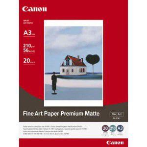 "Paper Canon FA-PM1, A3+,13""x19"" (329x483), Fine Art ""Premium Matte"", 210 g/m2, 56Ibs (us), 20 pages"