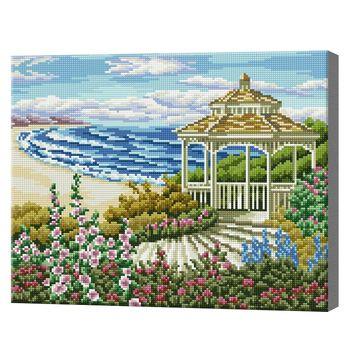 Алмазная мозаика 40x50 см Красивый вид на море
