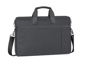 """купить 17.3"""" NB bag - RivaCase 8257 Canvas Black в Кишинёве"""