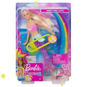 """Кукла Barbie """"Русалочка подводное сияние"""", код GFL82"""