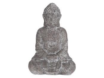 """Статуя """"Будда сидящий"""" 28cm, серый"""