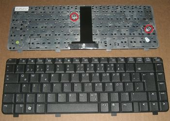 Keyboard HP Compaq 540 550 541 6720S 6520S ENG. Black