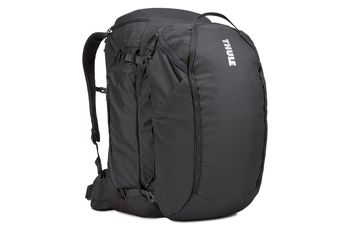 Travel Bag - THULE Landmark 60L, Obsidian,420D Dobby polyester, 600D polyester, Dimensions 45 x 33 x 55 cm, Weight 1.84 kg, 2-in-1,Volume 60L