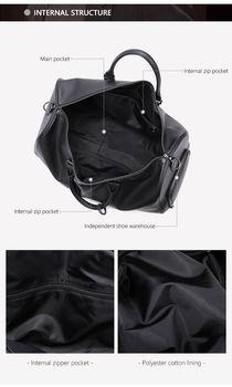 купить Мужская Дорожная сумка из натуральной кожи, сумка для багажа, спортивная сумка, чемодан для ручной клади в Кишинёве