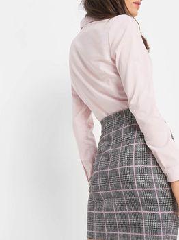 Юбка ORSAY Серый/Розовый
