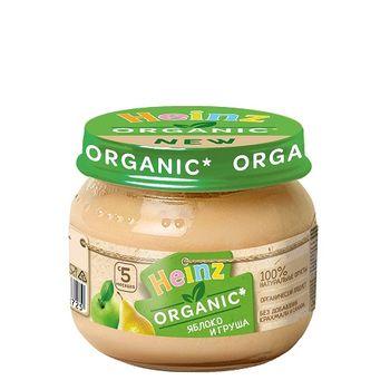 купить Heinz пюре органик яблоко и груша 5+мес. 80г в Кишинёве
