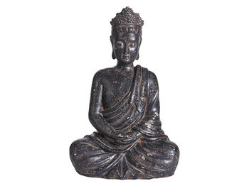 """Статуя """"Будда сидящий"""" 27cm, коричневый"""
