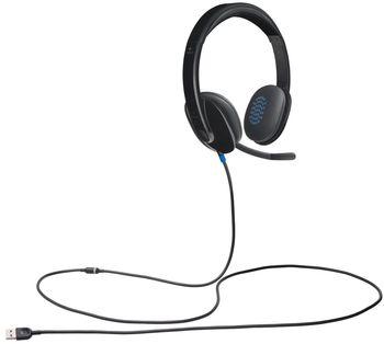 Headphones Logitech H540 USB, Headset:20-20,000Hz, Mic:100-10,000Hz, Micriphone