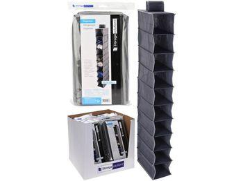 Органайзер для хранения подвесной 10секций, 15X30X120cm