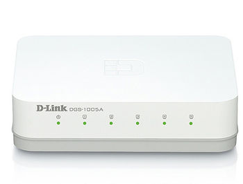 D-Link DGS-1005A/E1A L2 Unmanaged Switch with 5 10/100/1000Base-T ports, 2K Mac address, Auto-sensing, Plastic case