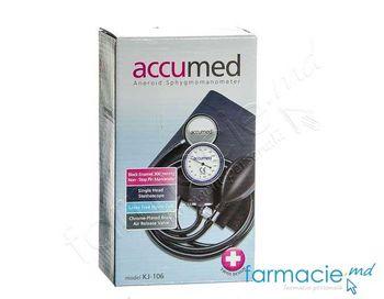купить Tonometru mecanic Accumed cu stetoscop KJ106 в Кишинёве