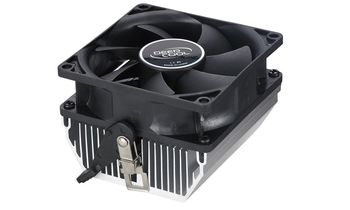 "DEEPCOOL Cooler ""CK-AM209"", Socket AM3/AM3+/FM1/FM2 up to 65W, 80x80x25mm, 2800rpm, <28dBA, 35CFM, 3pins, Hydro Bearing, Aluminium Heatsink (100pcs/box)"