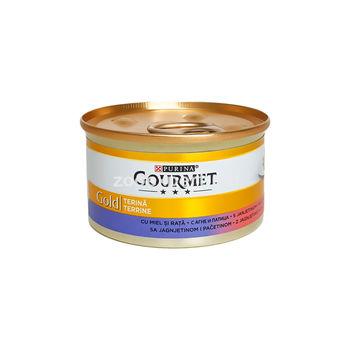 Gourmet Gold паштет утка и ягненок 85 gr