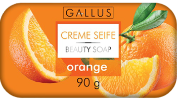 купить Крем - мыло Gallus 90g с ароматом апельсина в Кишинёве