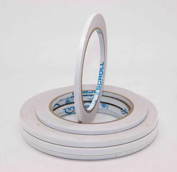 """SCROLL """"SUBTIRE"""" Двухсторонняя лента на бумажной (нетканой) основе 0.09 мм"""