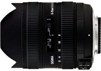 купить Zoom Lens Sigma AF 8-16mm f/4.5-5.6 DC HSM F/Nik в Кишинёве