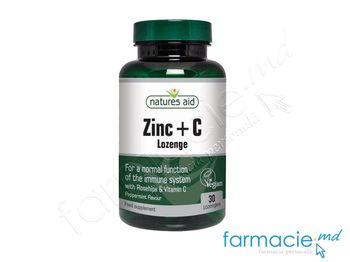 cumpără Zinc + Vit. C comp. masticab. N30(pentru imunitate) Natures Aid în Chișinău