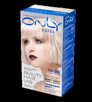 Краска для волос,ESTEL Only, 100 мл., 10/36 - Светлый блондин золотисто-фиолетовый