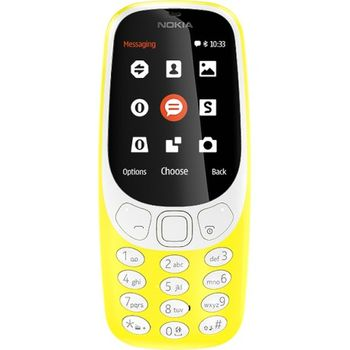 cumpără Nokia 3310 Dual sim, Yellow în Chișinău