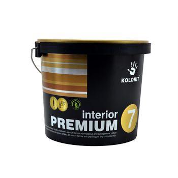 Kolorit Латексная краска Premium Interior 7 A Матовая 5л