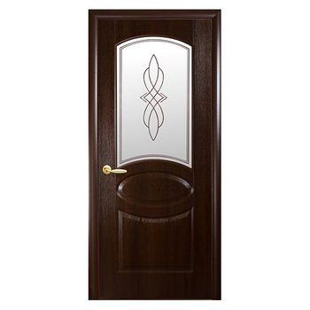 Новый Стиль Дверное полотно Фортис B каштан 200х60см