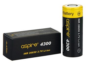 купить Аккумулятор Aspire INR 26650  (40А, 3.7V) 4300 mAh в Кишинёве