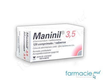 купить Maninil comp.  3.5mg N120 в Кишинёве
