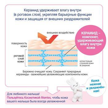 Увлажняющий крем для лица и тела Merries Baby 60 мл (0+)