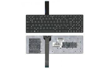 """Keyboard Asus K55 A55 U57 A75 K75 R500 R503 R700 F751 X751 w/o frame """"ENTER""""-Big ENG/RU Black"""