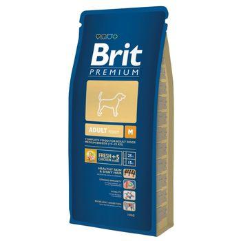 купить Brit Premium Adult M (Полнорационный корм для взрослых собак средних пород) в Кишинёве