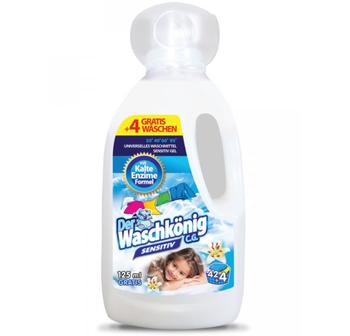 cumpără Detergent lichid Der Waschkonig Sensitiv 1.625 l, 46 de spalari în Chișinău