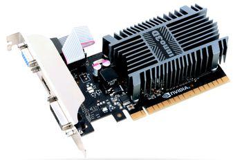 INNO3D GeForce GT 710 LP / 1GB DDR3, 64bit, 954/1600Mhz, VGA, DVI, HDMI, Passive Heatsink, Box