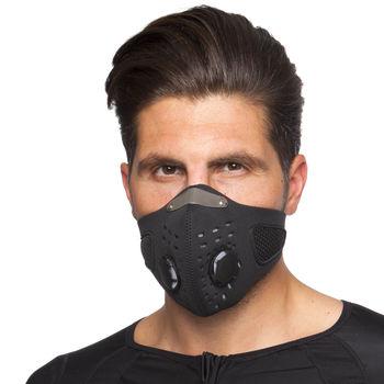 купить Маска лицевая ветрозащитная MS-0299 (неопрен, черный) (3837) в Кишинёве
