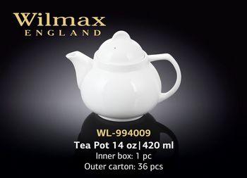 Чайник заварочный WILMAX WL-994009/A (420 мл)
