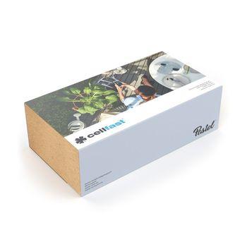 купить Инструмент ручной в комплекте PASTEL (лопатка, вилка д/пропол, культиватор, мотыга) Cellfast 40-051 в Кишинёве
