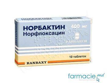 купить Norbactin comp. 400mg N10 (norfloxacin) в Кишинёве