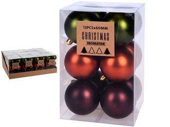 """Набор шаров 12X60mm, """"Autumn"""" в коробке, 3 дизайна"""