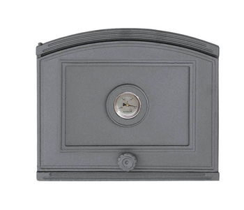 Дверца чугунная глухая с термометром левая DP3T
