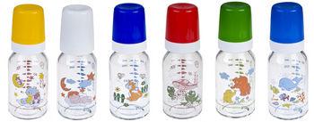 купить Canpol бутылочка стеклянная с рисунком, 120мл в Кишинёве