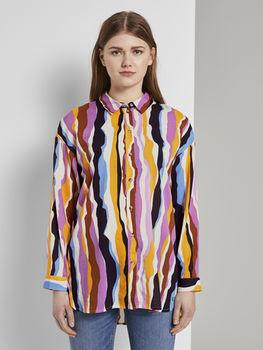 Блуза TOM TAILOR Многоцветный