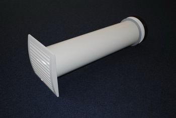 купить Стенной проветриватель Ø125mm комплект SPK125 Europlast в Кишинёве