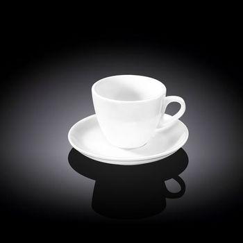 Чашка WILMAX WL-993173 AB (с блюдцем 75 мл)