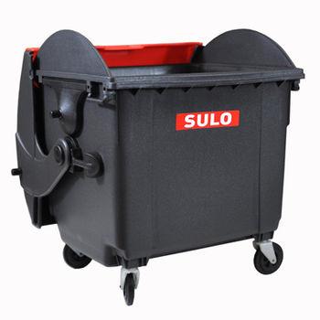 купить Контейнер для отходов из пластика MGB1100RD контейнер+крышка, черный в Кишинёве