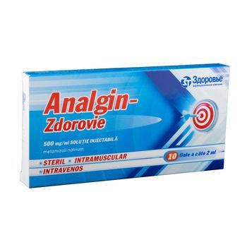 cumpără Analgin 50% 2ml sol.inj. N10 (Borisov) în Chișinău