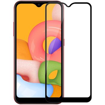 Защитное стекло Samsung A01 (5D )